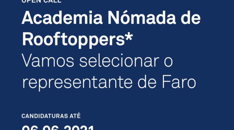 Faro procura um representante na academia nómada de Rooftoppers