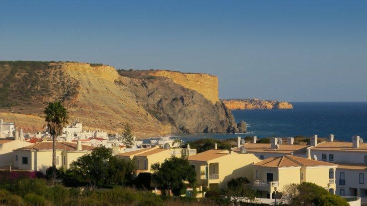 Praia da Luz where the triathlon was held.