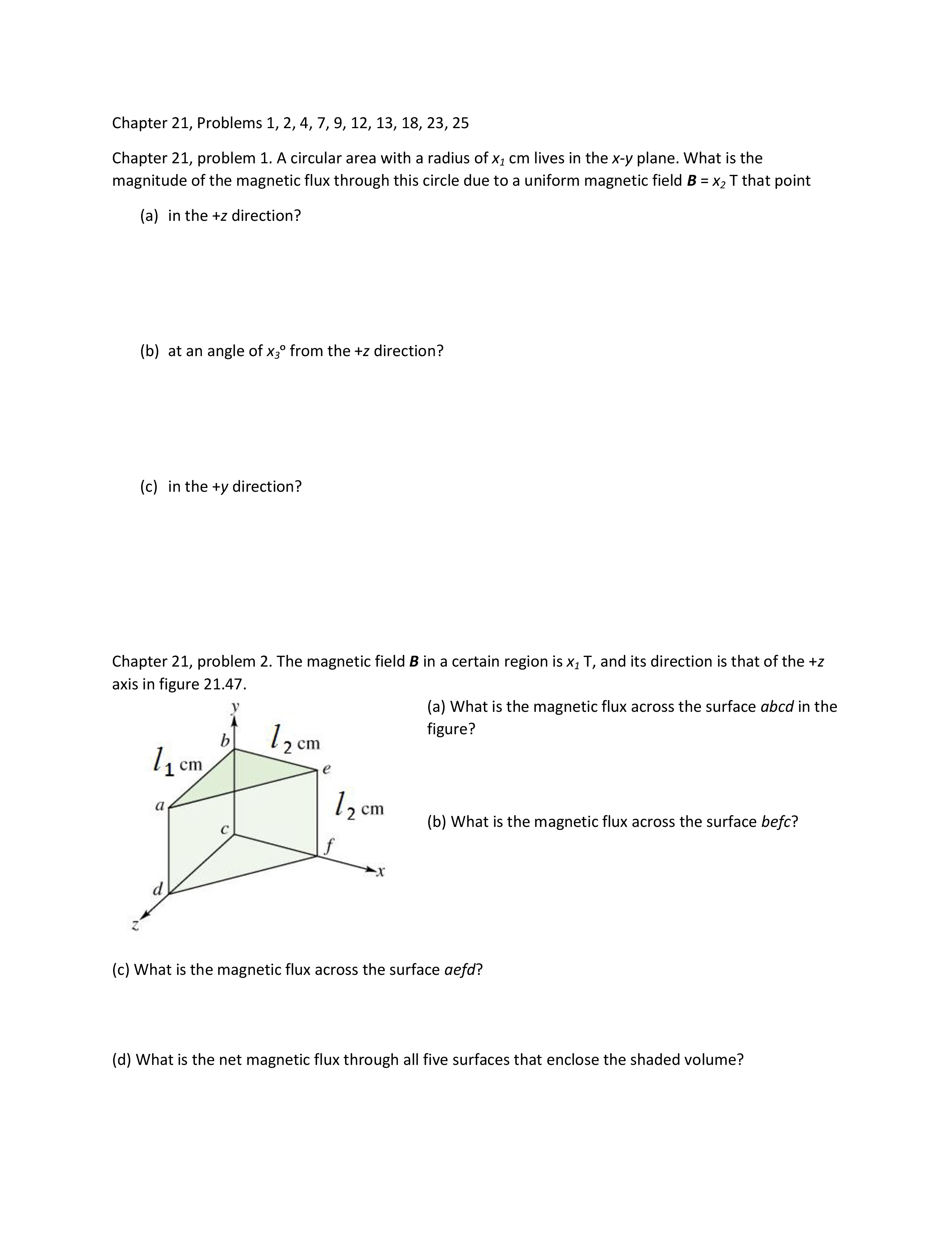 Magnets Magnetic Fields Worksheet