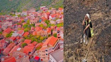 """Photo of بالصور.. """"سويسرا الجزائر الخضراء"""" ترتدي رماد الحرائق"""