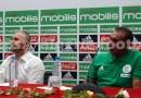 """Equipe d'Algérie : Belmadi """" instaurer un nouveau projet de jeu basé sur la possession de balle"""", vidéo"""
