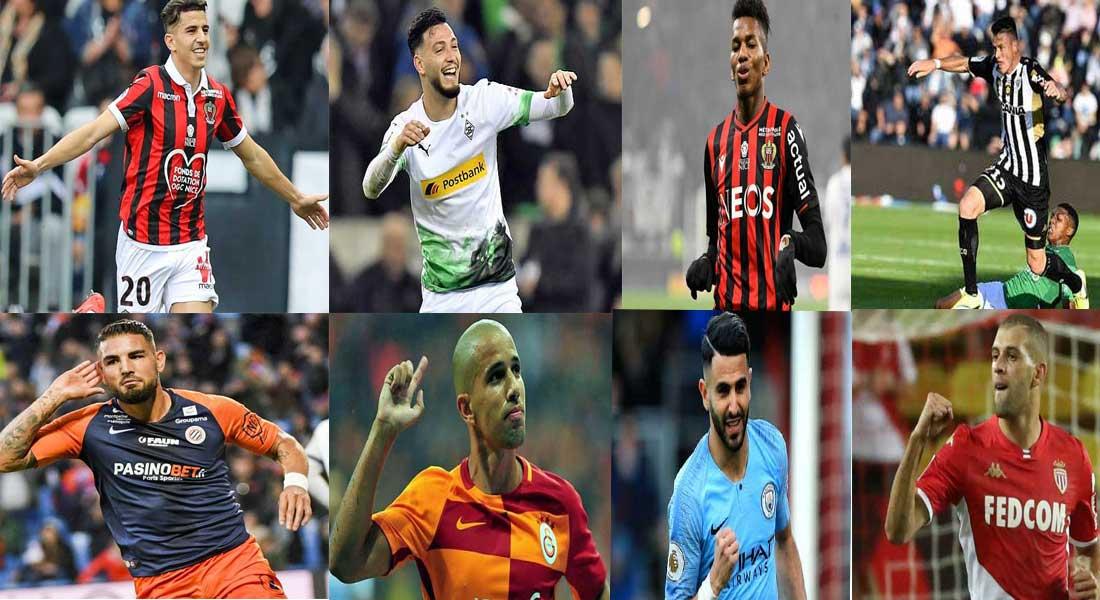 L'essentiel des buts des internationaux algériens en europe