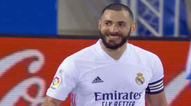 Liga : Deportivo Alavés 1 – Real Madrid 4