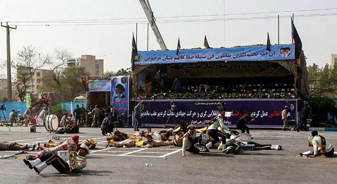 """Iran : Rohani promet une réponse """"terrible"""" après un attentat meurtrier dans la province du Khouzestan"""