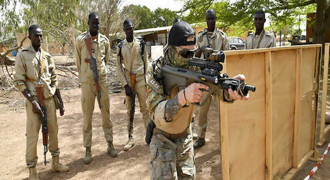Burkina faso armée