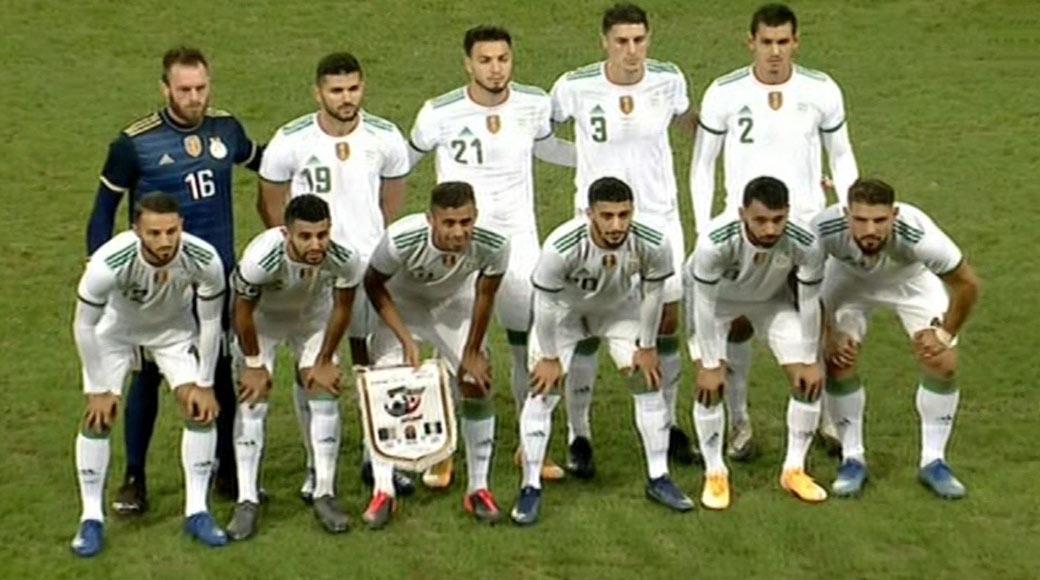 Amical : Algérie 1 – Nigéria 0 , les Verts l'emportent sur un but de Bensabaïni