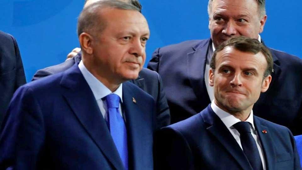 """Erdogan demande à Macron à subir un """"examen de santé mentale"""""""