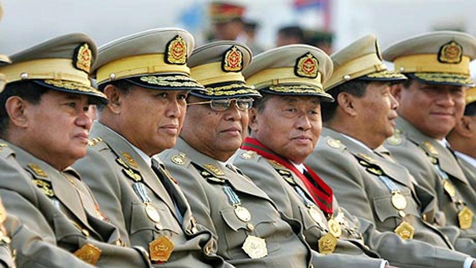 généraux birmanie