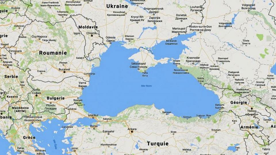 carte mer noire