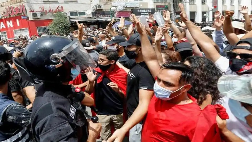 Tunisie manifestation