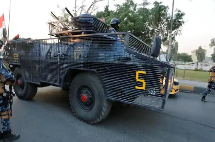 Police Irak