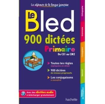 Le Bled 900 dictées Primaire essentielles disponible sur Algériemarket.com