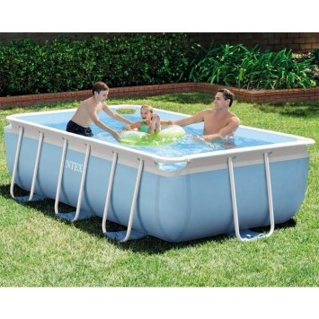 Piscine tubulaire rectangulaire - 3,00 x 1,75 x 0,80 m 28314