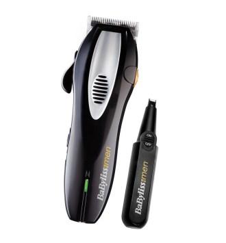 Tondeuse cheveux + tondeuse nez Babyliss E900PE
