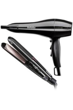 Sèche cheveux Babyliss AC + Lisseur 6627PE