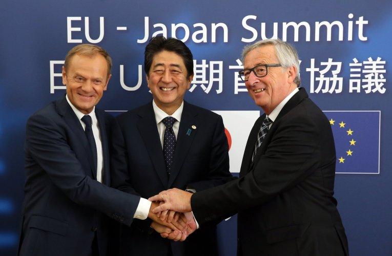UE – Japon le signe d'une Nouvelle époque géopolitique.