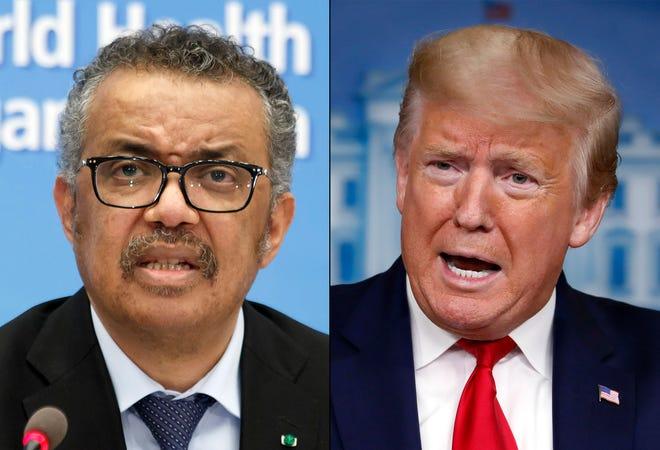 Donald Trump a déclaré qu'il mettait fin à la relation des États-Unis avec l'Organisation mondiale de la santé