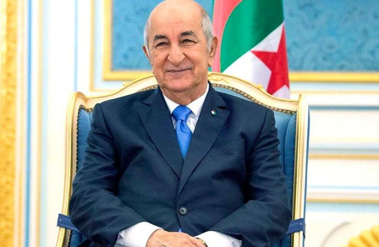 Alger-Le president Abdelmadjid Tebboune rentre en Algérie