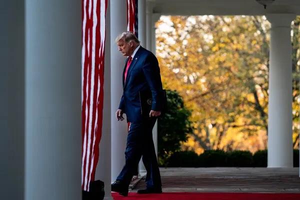Trump reconnaît pour la première fois que la nouvelle administration prendra ses fonctions le 20 janvier