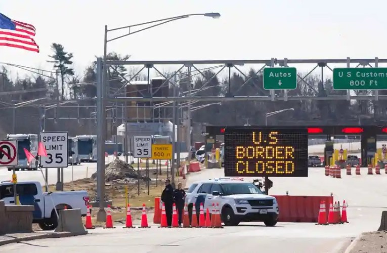 Les États-Unis prolongent leurs fermetures de frontières, malgré la réouverture du Canada aux Américains