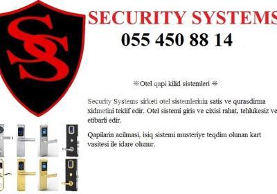 otel kilid sistemi 055 450 88 14