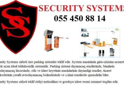 parking sistemi 055 450 88 14