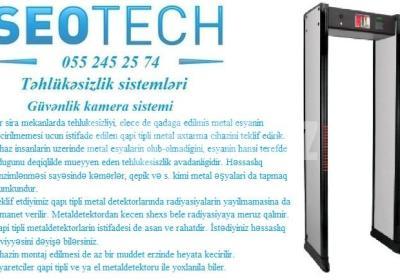 metaldetektor qapi tipli metaldetektor 055 245 25 74