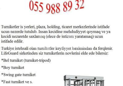 BOY TURNIKET 055 988 89 32