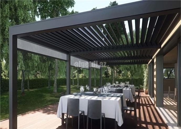 Aluminum-Waterproof-Electric-Pergola-for-Villa-Garden