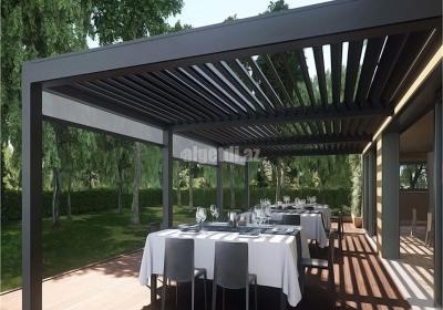 Aluminum Waterproof Electric Pergola for Villa Garden