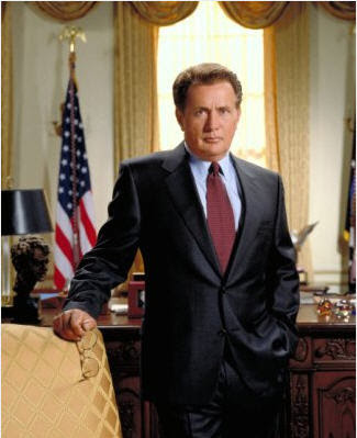 Martin Sheehan as President Bartlet