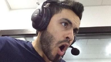 المعلق الرياضي الفلسطيني علي أبو كباش