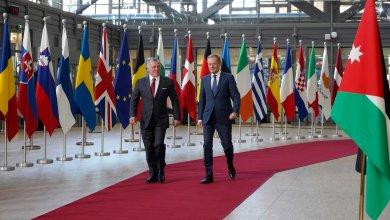 Photo of الملك يبحث مع رئيس المجلس الأوروبي فرص توسيع التعاون