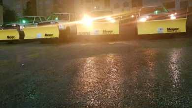 كاسحات ثلوج تابعة لأمانة عمان
