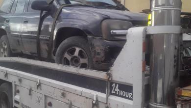 ضبط سيارة مسروقة في البادية الوسطى