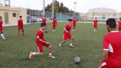 Photo of منتخب كرة الناشئين يواصل تدريباته تأهبا للتصفيات الآسيوية