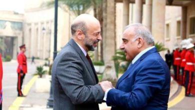 Photo of الرزاز يستقبل عبدالمهدي في طريبيل لإطلاق مشاريع مشتركة