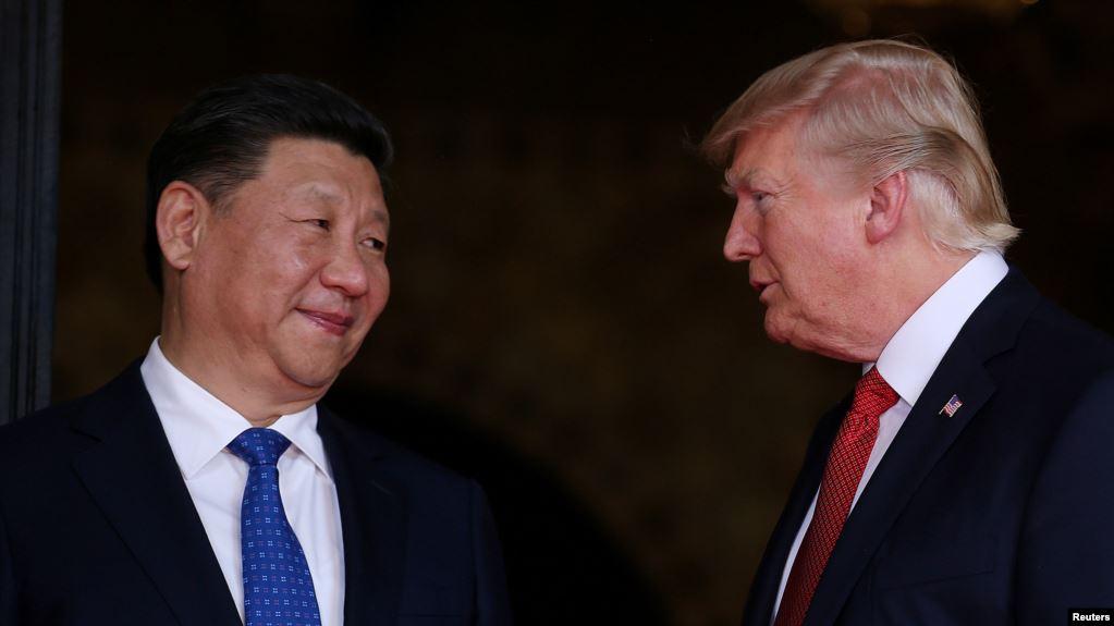 الرئيس الصيني شي جينبينغ ونظيره الأميركي دونالد ترامب