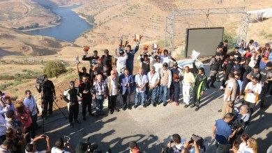 "Photo of خاتشيك يبدد ""كابوس الرعب"" ويكسر الرقم القياسي لسباق الحسين لتسلق مرتفع الرمان"
