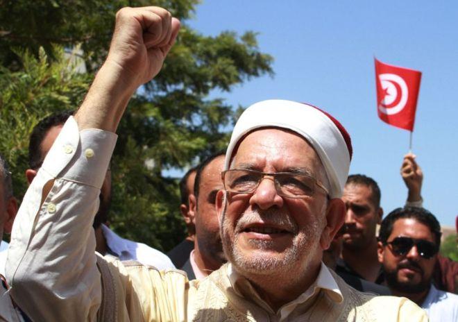 من ابرز المرشحين عبد الفتاح مورو عن حركة النهضة