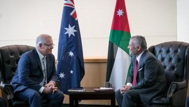Photo of الملك يلتقي رئيس الوزراء الأسترالي