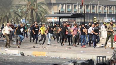 Photo of 18 قتيلاً على الأقل حصيلة ثلاثة أيام من الاحتجاجات الدامية في العراق