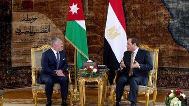 الملك يجري مباحثات مع الرئيس المصري عبدالفتاح السيسي في القاهرة