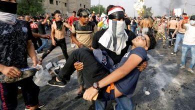 Photo of حصيلة قتلى الاحتجاجات في العراق ترتفع إلى 110