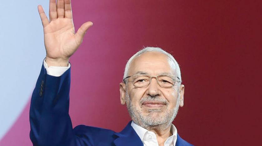 رئيس حزب حركة النهضة راشد الغنوشي