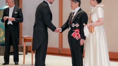 Photo of مندوبا عن الملك.. ولي العهد يشارك في مراسم تنصيب إمبراطور اليابان
