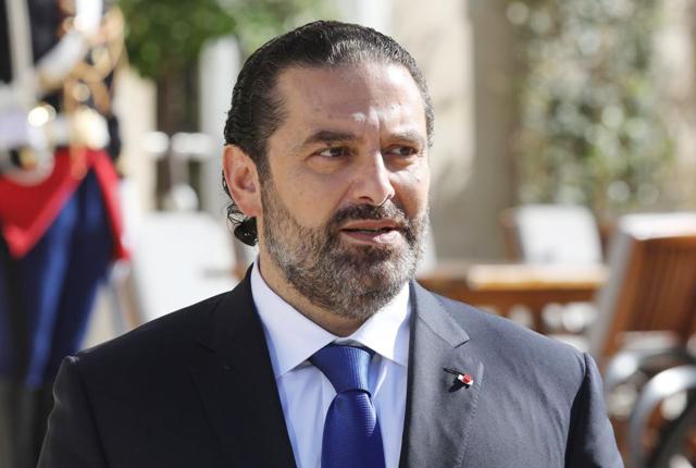 رئيس الحكومة اللبنانية المكلّف سعد الحريري
