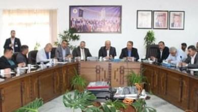 Photo of بني هاني يلتقي موظفي بلدية إربد الجدد