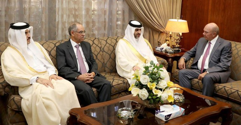 Photo of الفايز يلتقي رئيس ديوان المحاسبة القطري