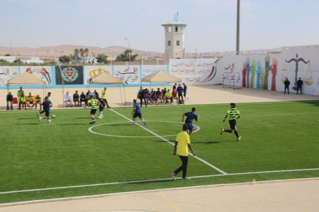مركز إصلاح وتأهيل سواقة بطلا لخماسي كرة القدم